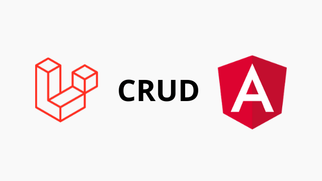 Laravel 6 AngularJs CRUD tutorial