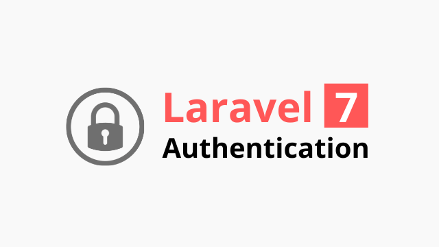 Laravel 7 authentication tutorial