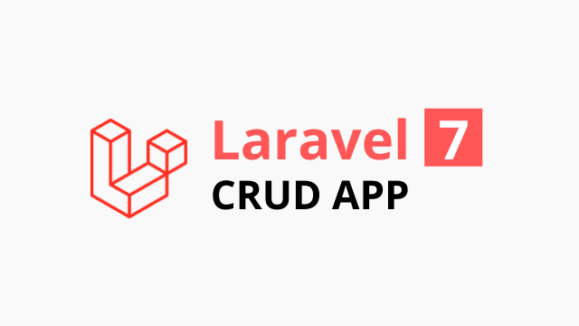 Laravel 7 CRUD tutorial