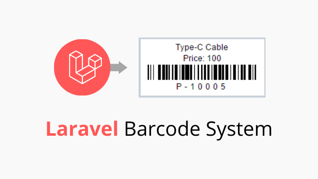 Laravel Barcode generation tutorial