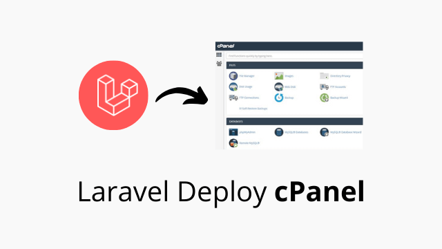 Deploy Laravel 6 project on shared hosting