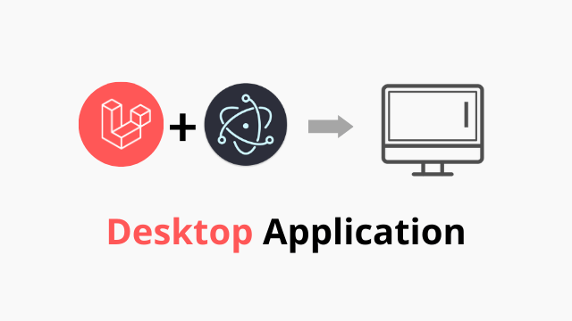 Laravel desktop application using Electron Js