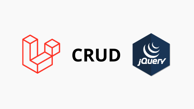 Laravel 6 jQuery Ajax CRUD tutorial