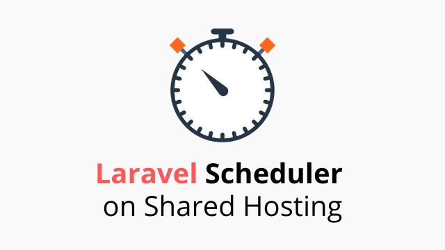 Laravel Scheduler on cPanel shared hosting
