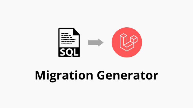 Laravel Migration Generator Online