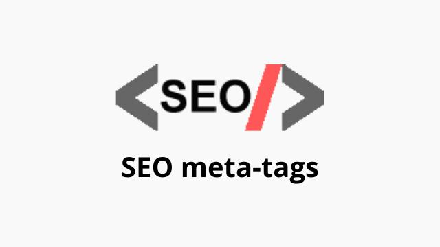 Dynamic SEO meta-tags in Laravel website