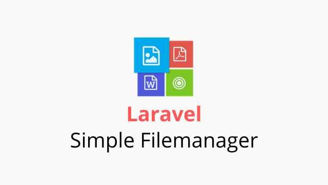 Laravel Simple Filemanager